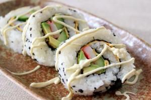 巻き寿司重ね